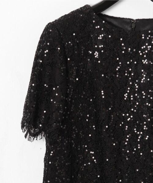 GRACE CONTINENTAL / グレースコンチネンタル ドレス | スパン刺繍レースミニワンピース | 詳細9