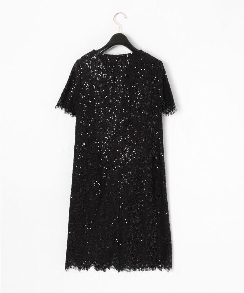 GRACE CONTINENTAL / グレースコンチネンタル ドレス | スパン刺繍レースミニワンピース | 詳細12
