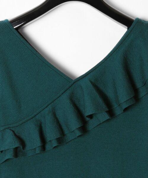 GRACE CONTINENTAL / グレースコンチネンタル ニット・セーター | ハイゲージフリルニットトップ | 詳細19