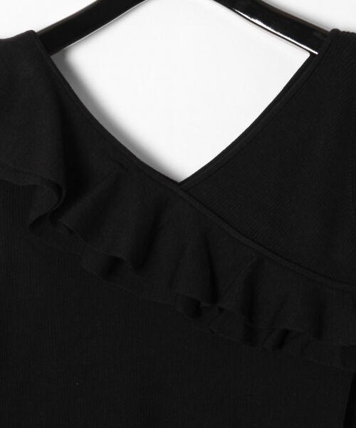 GRACE CONTINENTAL / グレースコンチネンタル ニット・セーター | ハイゲージフリルニットトップ | 詳細21