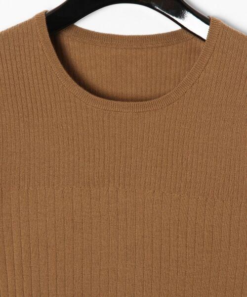 GRACE CONTINENTAL / グレースコンチネンタル ニット・セーター | ハイゲージ5分袖ニットトップ | 詳細2