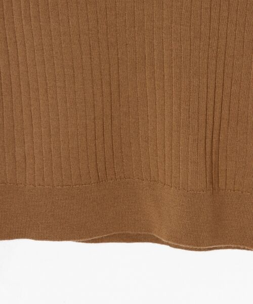 GRACE CONTINENTAL / グレースコンチネンタル ニット・セーター | ハイゲージ5分袖ニットトップ | 詳細4