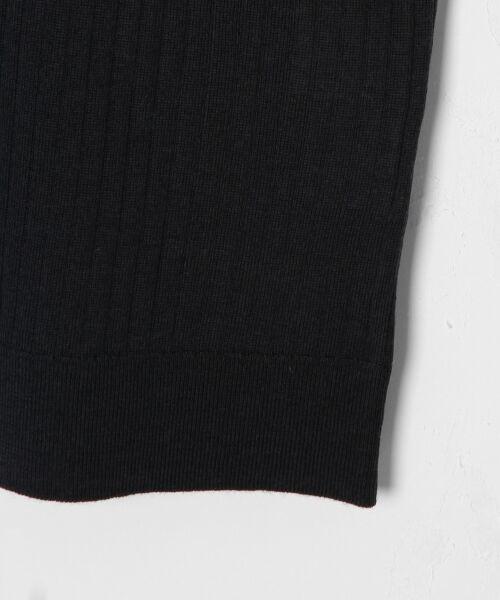 GRACE CONTINENTAL / グレースコンチネンタル ニット・セーター | ハイゲージ5分袖ニットトップ | 詳細17