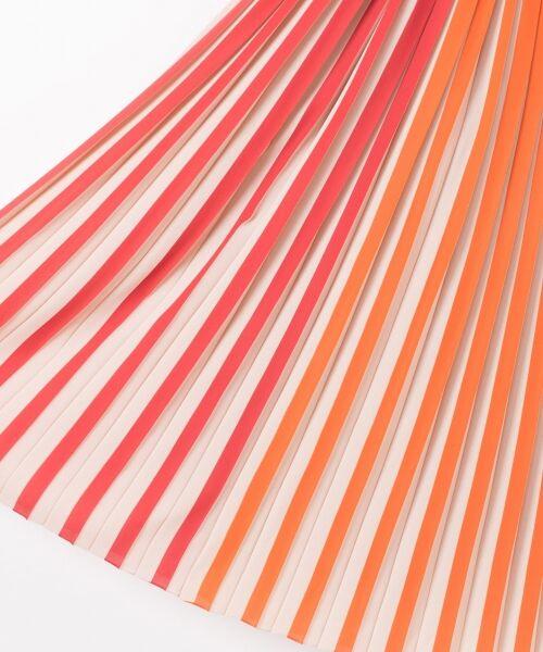 GRACE CONTINENTAL / グレースコンチネンタル ミニ・ひざ丈スカート | バイカラープリーツ配色スカート | 詳細6