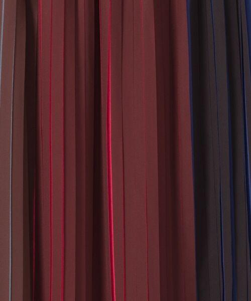 GRACE CONTINENTAL / グレースコンチネンタル ミニ・ひざ丈スカート | バイカラープリーツ配色スカート | 詳細12