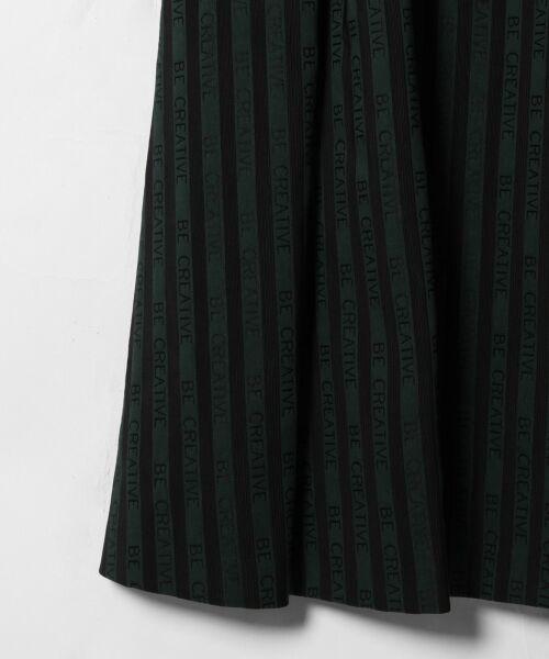 GRACE CONTINENTAL / グレースコンチネンタル ドレス | ラインロゴジャガードドレス | 詳細8