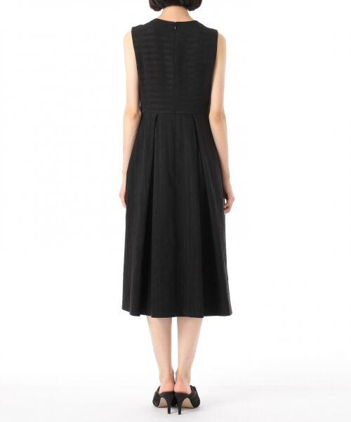 GRACE CONTINENTAL / グレースコンチネンタル ドレス | ラインロゴジャガードドレス | 詳細16