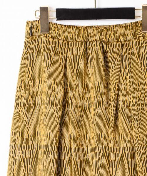 GRACE CONTINENTAL / グレースコンチネンタル ミニ・ひざ丈スカート | カラミキカスカート | 詳細15