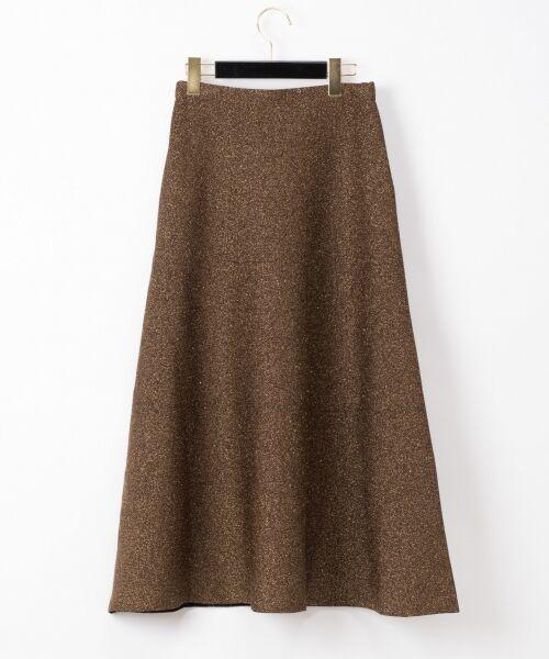 GRACE CONTINENTAL / グレースコンチネンタル ミニ・ひざ丈スカート | ラメニットスカート | 詳細13