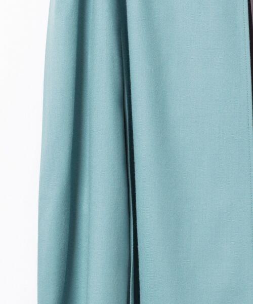 GRACE CONTINENTAL / グレースコンチネンタル ミニ・ひざ丈スカート | 配色マチプリーツスカート | 詳細4