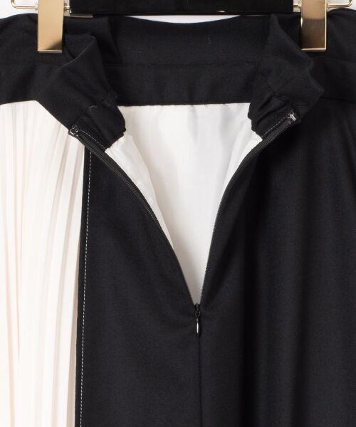 GRACE CONTINENTAL / グレースコンチネンタル ミニ・ひざ丈スカート | 配色マチプリーツスカート | 詳細21
