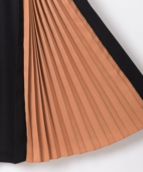 GRACE CONTINENTAL / グレースコンチネンタル ミニ・ひざ丈スカート | 配色マチプリーツスカート | 詳細23