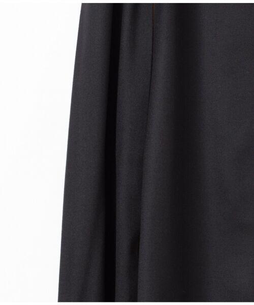 GRACE CONTINENTAL / グレースコンチネンタル ミニ・ひざ丈スカート | 配色マチプリーツスカート | 詳細16