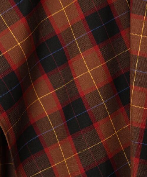 GRACE CONTINENTAL / グレースコンチネンタル ミニ・ひざ丈スカート | アシメチェックスカート | 詳細11