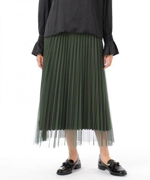 GRACE CONTINENTAL / グレースコンチネンタル ミニ・ひざ丈スカート | 【オンライン限定】リバーシブルスカート | 詳細1