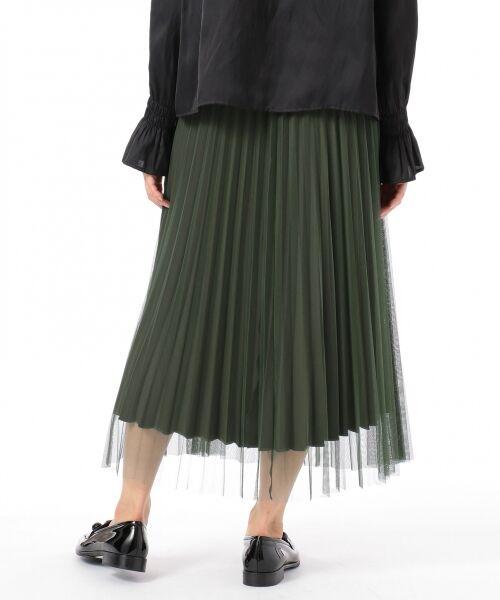 GRACE CONTINENTAL / グレースコンチネンタル ミニ・ひざ丈スカート | 【オンライン限定】リバーシブルスカート | 詳細3