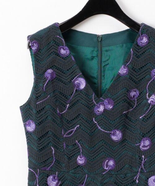 GRACE CONTINENTAL / グレースコンチネンタル ドレス | チェリーレースドレス | 詳細1