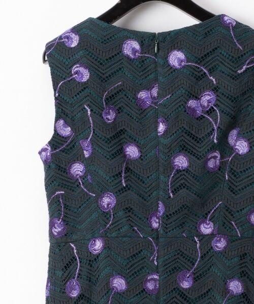 GRACE CONTINENTAL / グレースコンチネンタル ドレス | チェリーレースドレス | 詳細5