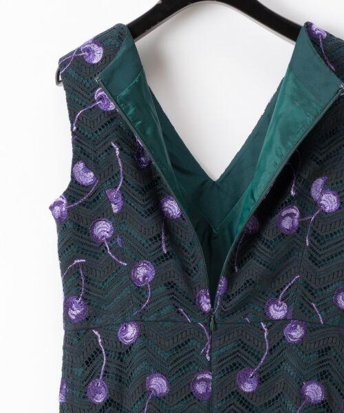 GRACE CONTINENTAL / グレースコンチネンタル ドレス | チェリーレースドレス | 詳細6