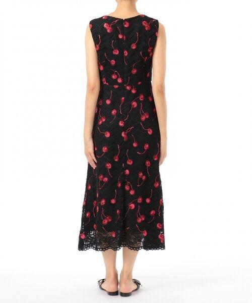 GRACE CONTINENTAL / グレースコンチネンタル ドレス | チェリーレースドレス | 詳細9