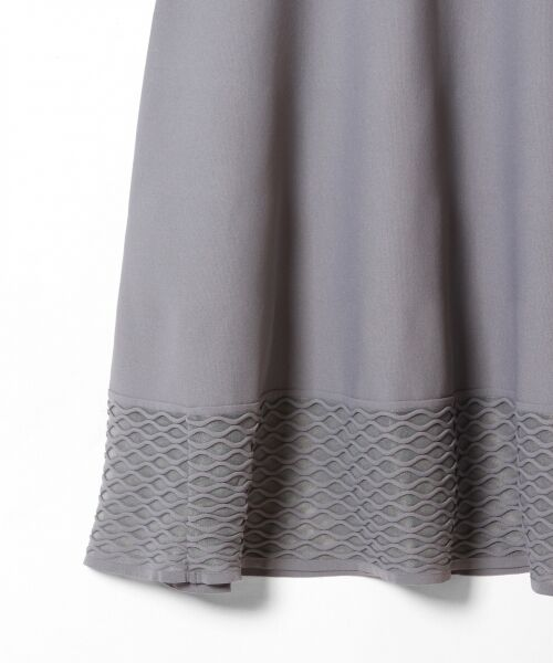 GRACE CONTINENTAL / グレースコンチネンタル ドレス | シアーニットドレス | 詳細11