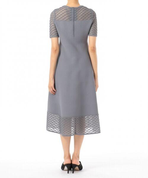 GRACE CONTINENTAL / グレースコンチネンタル ドレス | シアーニットドレス | 詳細8