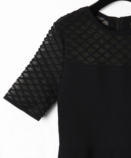 GRACE CONTINENTAL / グレースコンチネンタル ドレス | シアーニットドレス | 詳細15