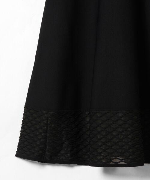 GRACE CONTINENTAL / グレースコンチネンタル ドレス | シアーニットドレス | 詳細16