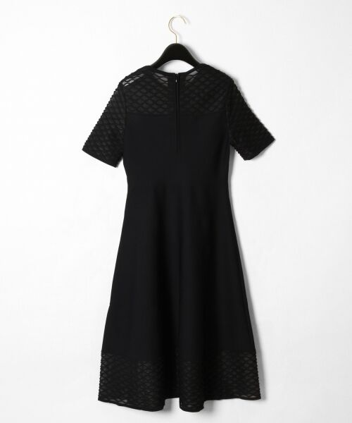 GRACE CONTINENTAL / グレースコンチネンタル ドレス | シアーニットドレス | 詳細17