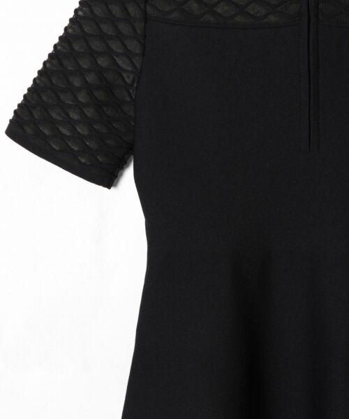 GRACE CONTINENTAL / グレースコンチネンタル ドレス | シアーニットドレス | 詳細19