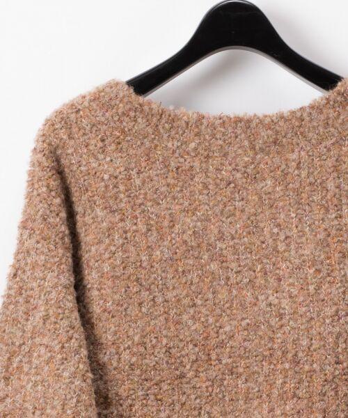 GRACE CONTINENTAL / グレースコンチネンタル ニット・セーター | ネップVネックニットトップ | 詳細10