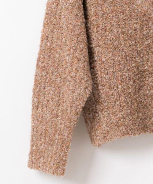 GRACE CONTINENTAL / グレースコンチネンタル ニット・セーター | ネップVネックニットトップ | 詳細8