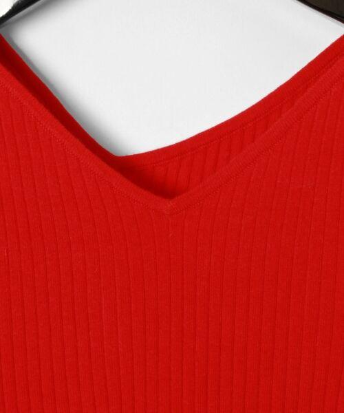GRACE CONTINENTAL / グレースコンチネンタル ニット・セーター | イレギュラーネックニットトップ | 詳細4