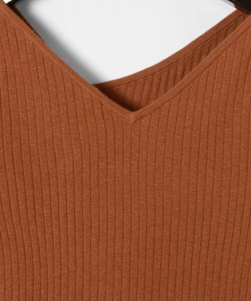 GRACE CONTINENTAL / グレースコンチネンタル ニット・セーター | イレギュラーネックニットトップ | 詳細8