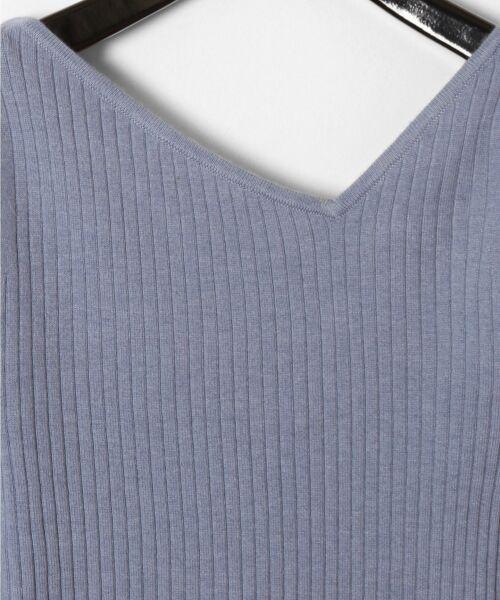 GRACE CONTINENTAL / グレースコンチネンタル ニット・セーター | イレギュラーネックニットトップ | 詳細12