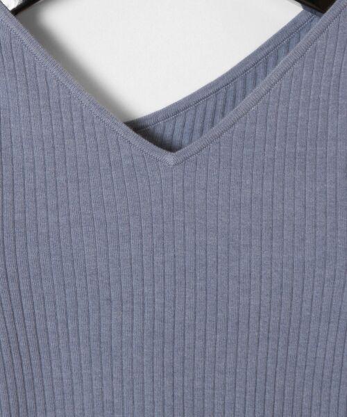 GRACE CONTINENTAL / グレースコンチネンタル ニット・セーター | イレギュラーネックニットトップ | 詳細15