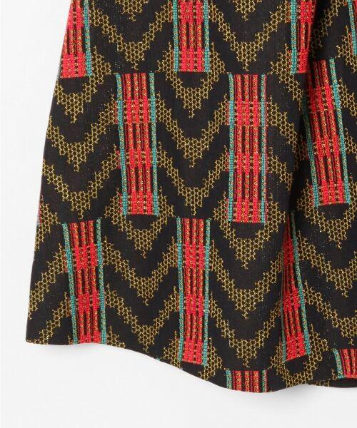 GRACE CONTINENTAL / グレースコンチネンタル ミニ・ひざ丈スカート | キカジャガードスカート | 詳細2