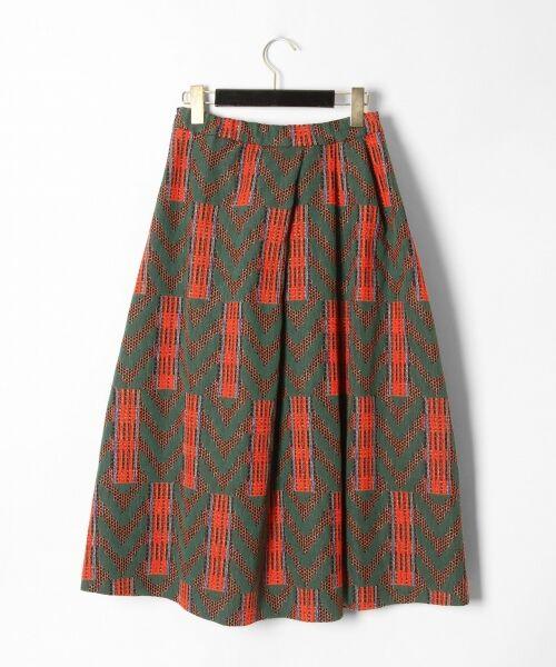 GRACE CONTINENTAL / グレースコンチネンタル ミニ・ひざ丈スカート | キカジャガードスカート | 詳細11