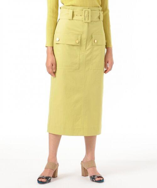 GRACE CONTINENTAL / グレースコンチネンタル ミニ・ひざ丈スカート | フロントポケットタイトスカート | 詳細1