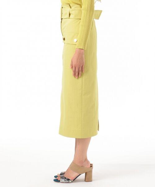 GRACE CONTINENTAL / グレースコンチネンタル ミニ・ひざ丈スカート | フロントポケットタイトスカート | 詳細3