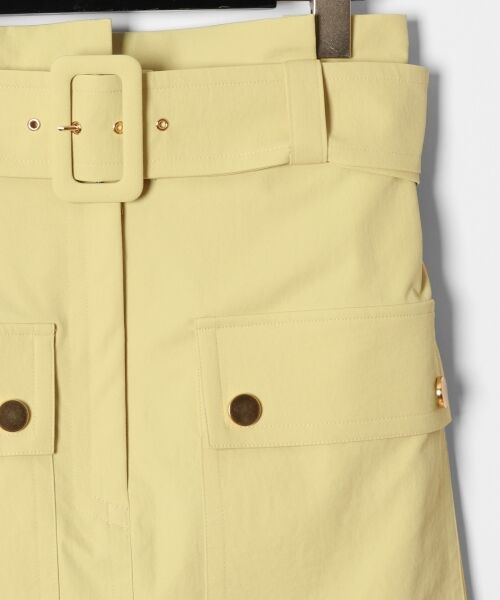 GRACE CONTINENTAL / グレースコンチネンタル ミニ・ひざ丈スカート | フロントポケットタイトスカート | 詳細5