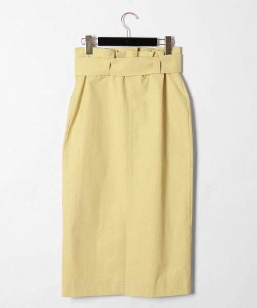 GRACE CONTINENTAL / グレースコンチネンタル ミニ・ひざ丈スカート | フロントポケットタイトスカート | 詳細7
