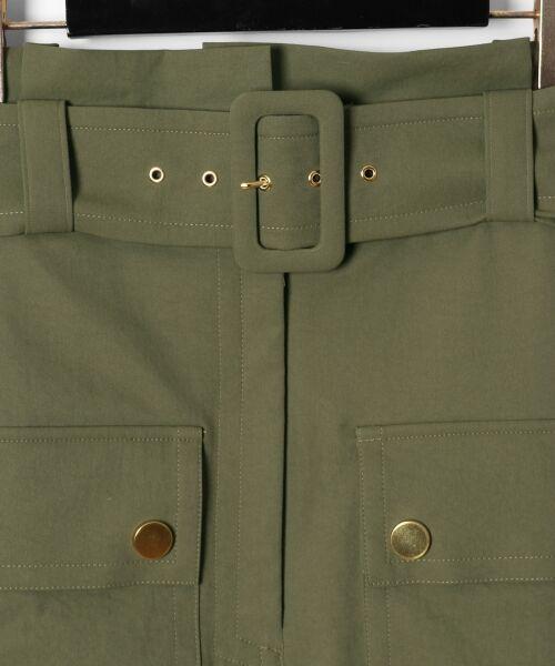 GRACE CONTINENTAL / グレースコンチネンタル ミニ・ひざ丈スカート   フロントポケットタイトスカート   詳細9
