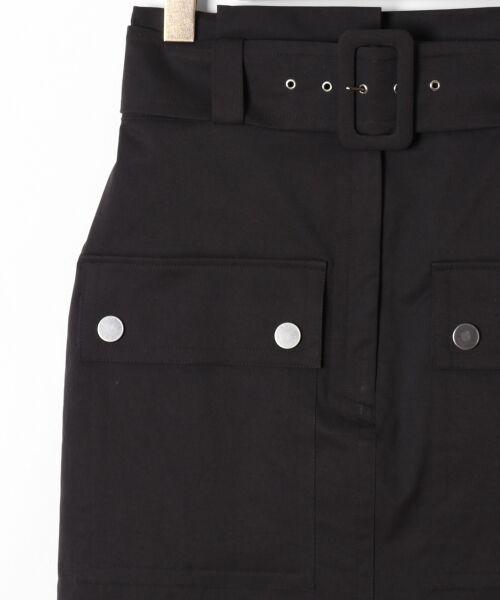 GRACE CONTINENTAL / グレースコンチネンタル ミニ・ひざ丈スカート   フロントポケットタイトスカート   詳細14