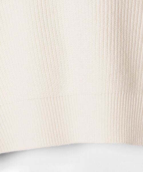 GRACE CONTINENTAL / グレースコンチネンタル ニット・セーター | アシメショルダーニットトップ | 詳細4