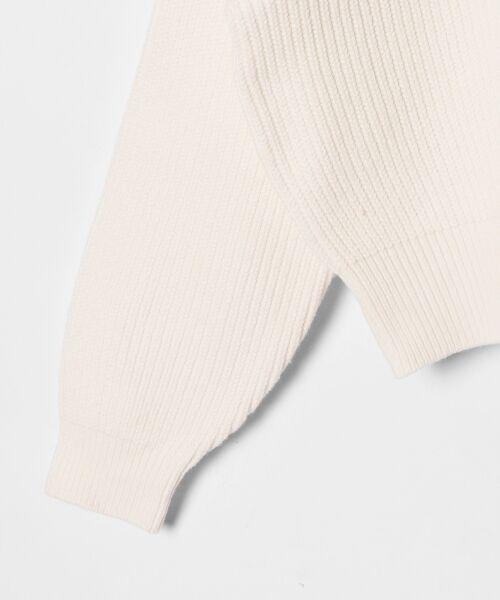 GRACE CONTINENTAL / グレースコンチネンタル ニット・セーター | アシメショルダーニットトップ | 詳細3