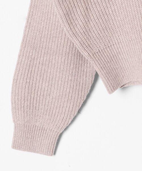GRACE CONTINENTAL / グレースコンチネンタル ニット・セーター | アシメショルダーニットトップ | 詳細9