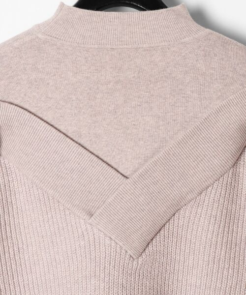 GRACE CONTINENTAL / グレースコンチネンタル ニット・セーター | アシメショルダーニットトップ | 詳細11