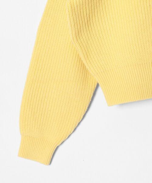 GRACE CONTINENTAL / グレースコンチネンタル ニット・セーター | アシメショルダーニットトップ | 詳細13