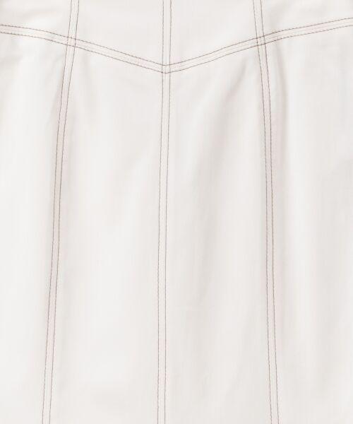 GRACE CONTINENTAL / グレースコンチネンタル ミニ・ひざ丈スカート   切替マーメイドスカート   詳細5